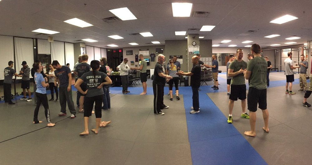 Crucible Krav Maga self-defense seminar.