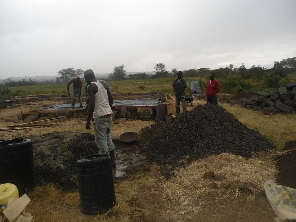 Ongoing Construction in Barut, Nakuru West Constituency