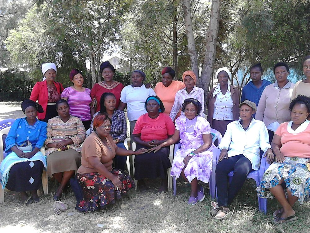 A recent women's forum in Mukuru.