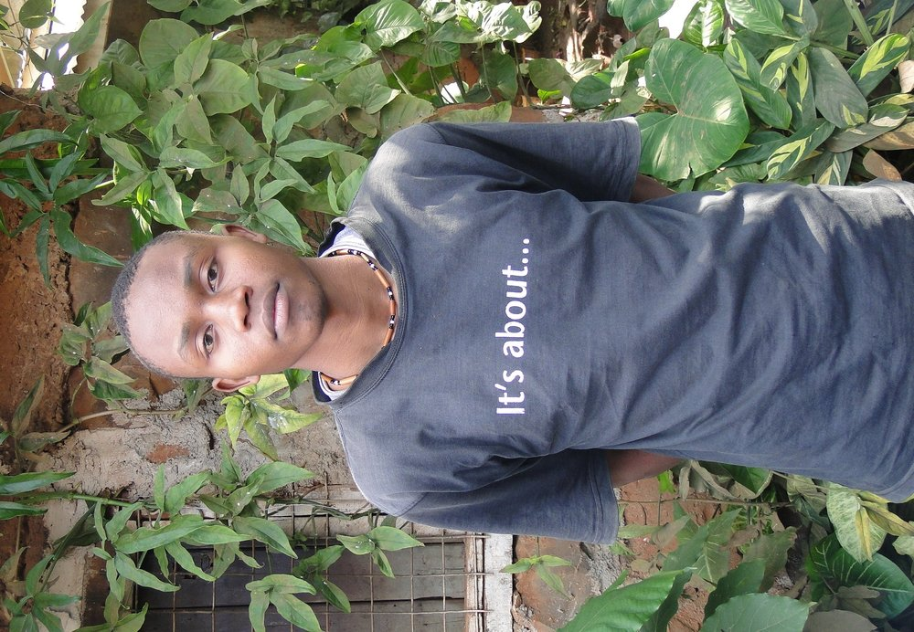 Francis Chege,22 years Grandson