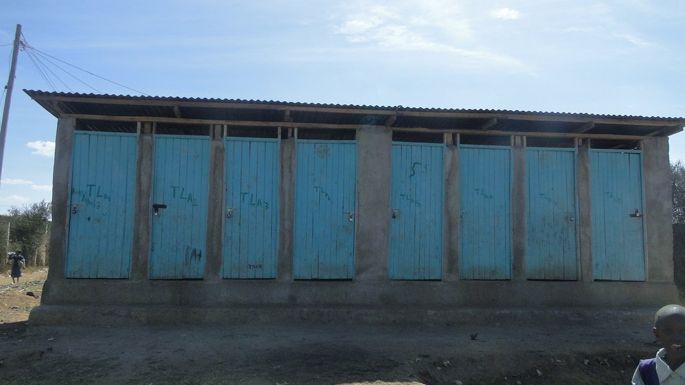 KIANDUTU TOILET BLOCKS CONSTRUCTED BY THIKA MUNICIPSL COUNCIL