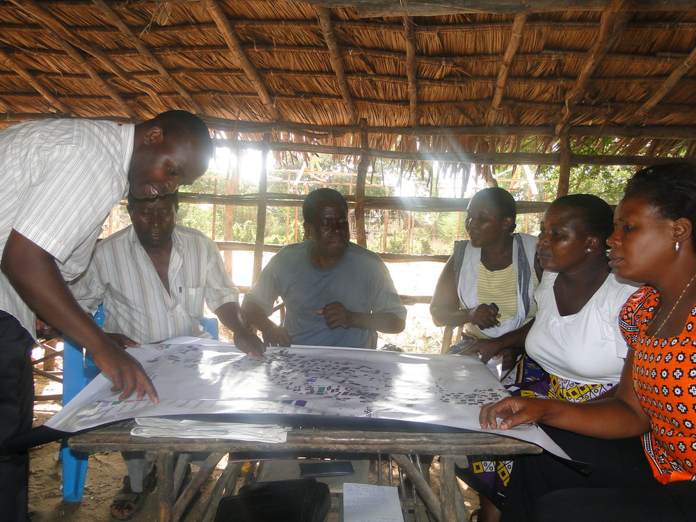 Community Led Planning in Mibuyu Saba