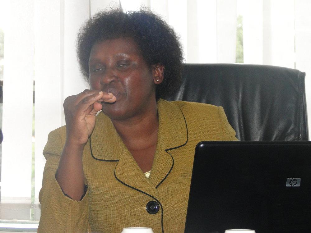 Mrs. Peris Mangi'ra Coordinator KISIP