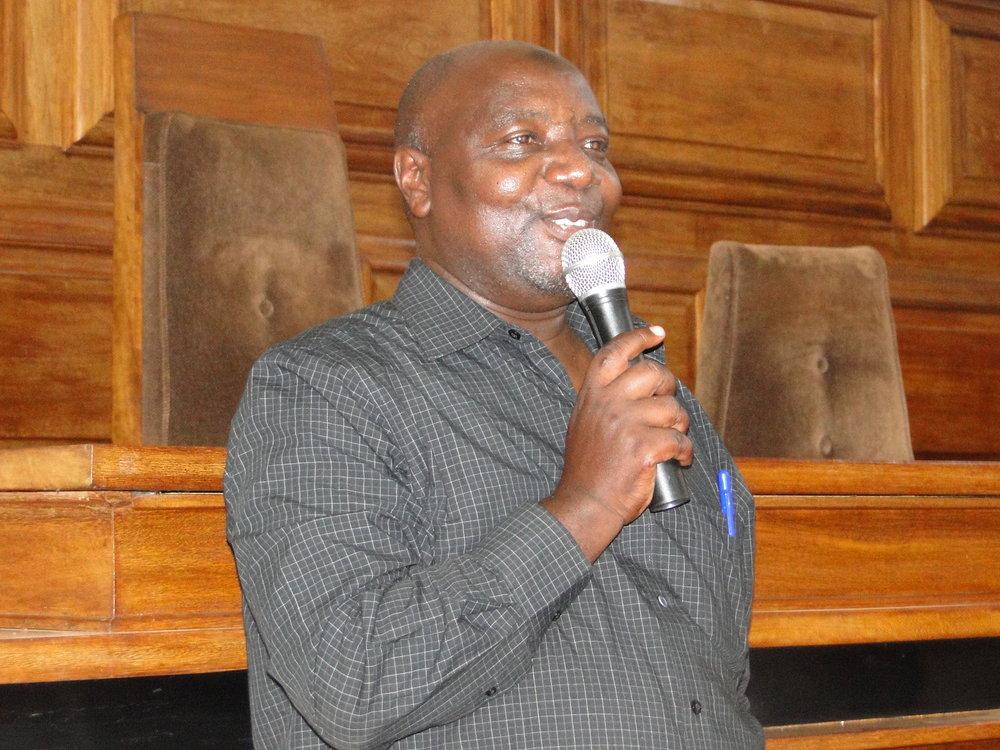 Hassan Chiberu, Chair NSDFU