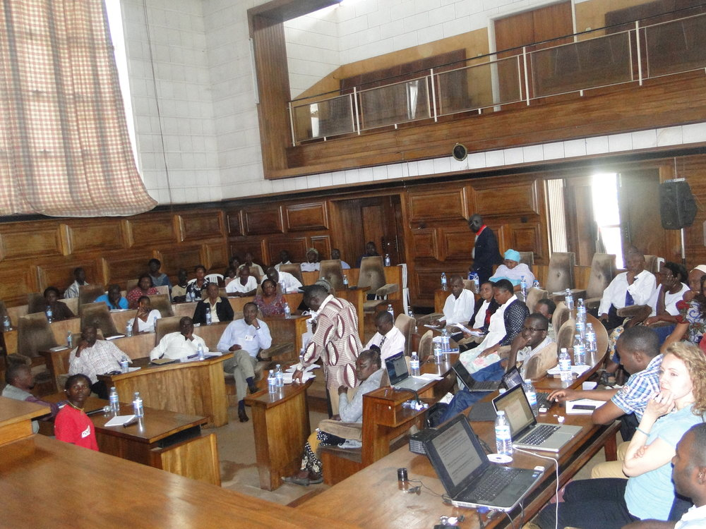 Hub Session Held at the Municipal Council Chambers