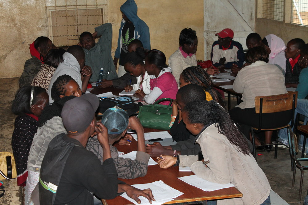 Youth Assembly Model Structure validation exercise in Machakos