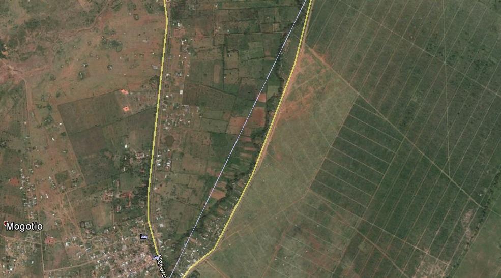 Figure 1: The location of the sisal plantation in Mogotio