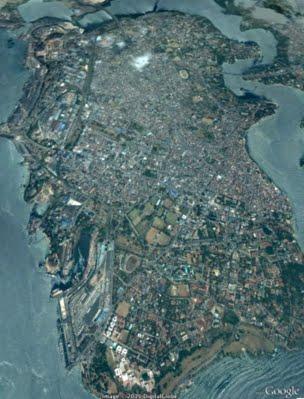Mombasa |Source Google Maps