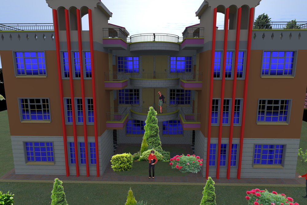The Katani Greenfield and Housing Project Architectural house design impressions