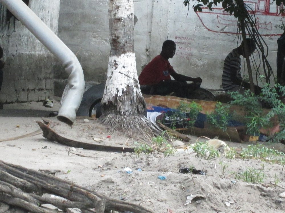 Figure 10: A section of the youths idling along the river banks and involved in drug abuse