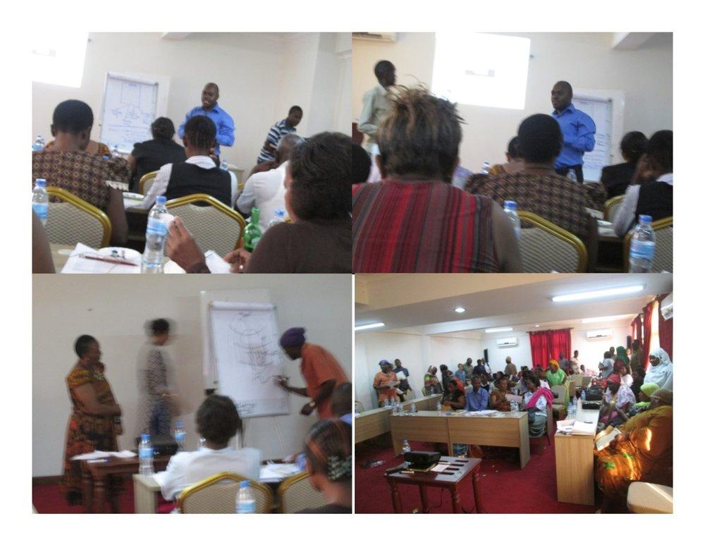 Figure 5: Training session held in Kenyatta hall