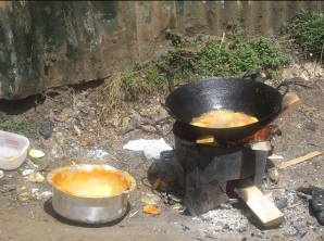 Making of fries, Mukuru