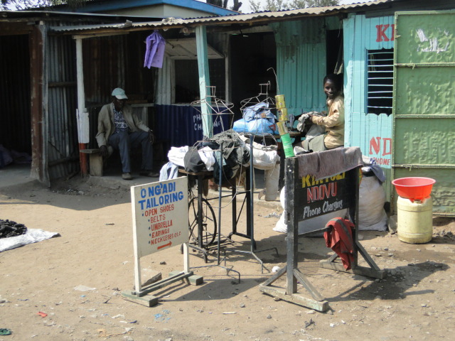 The sanitation block in Kibos intends to serve communities in the local market
