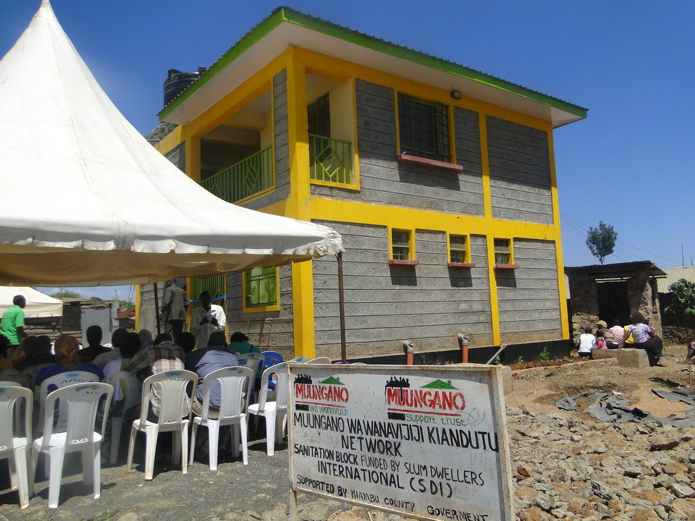 Molo Sanitation Ablution Block