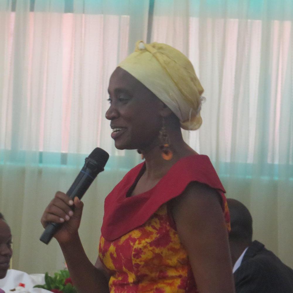 Jane Weru. Akiba Mashinani Trust
