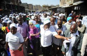 Charity Ngilu, Lands Cabinet Secretary Visits Huruma