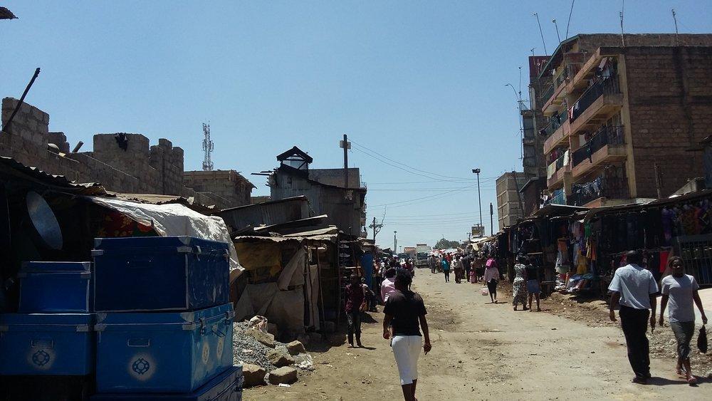 Huruma, Ghetto