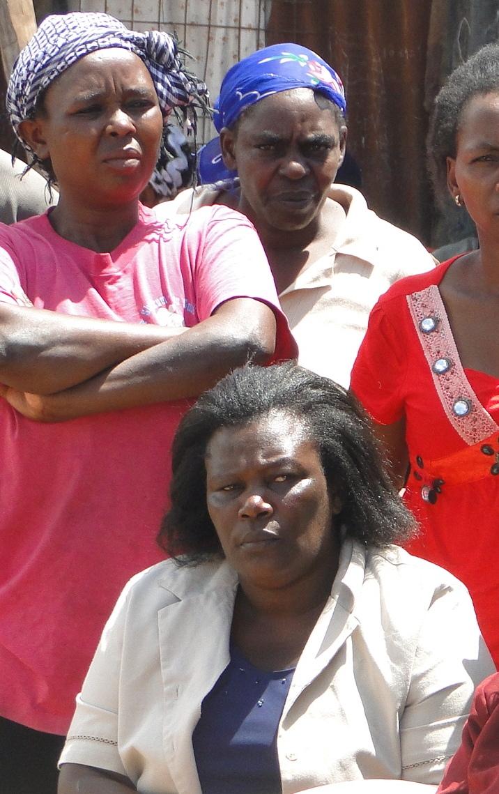 Sited: Anastacia Wairimu, resident of Kahawa Soweto Informal Settlement and a member of Muungano wa Wanavijiji.