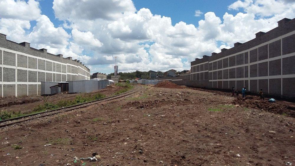 The Railway Corridor in Kibera