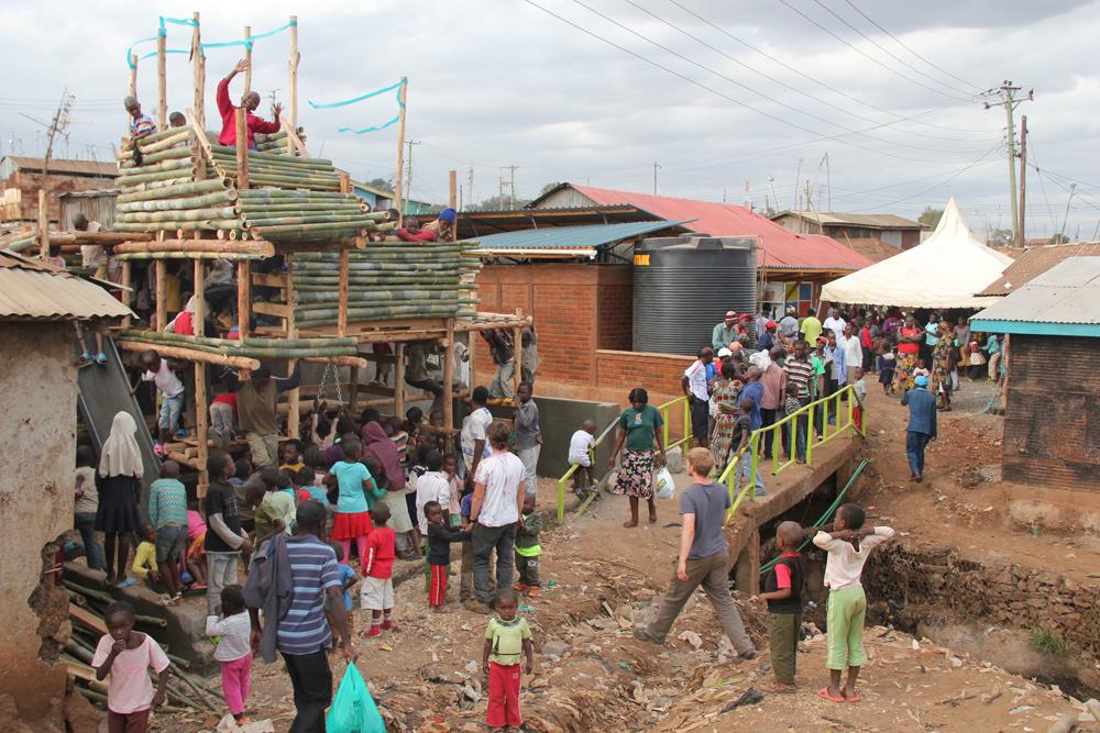 A Public Space in Kibera Photo Credits. kounkey.org
