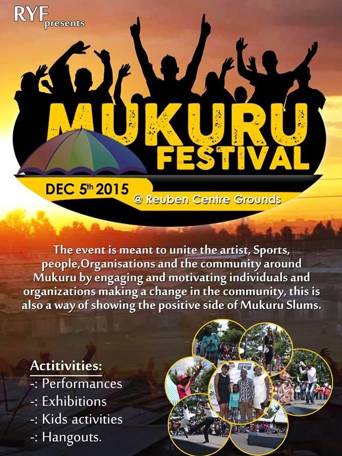 Mukuru Festival Poster