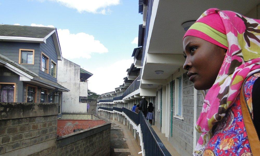 Youth documenter Sophia Khamis. Photo Shaddy Mbaka, SDI Kenya