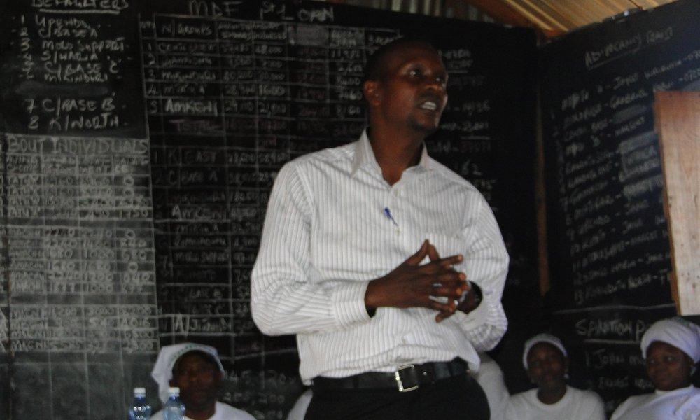 Rashid Mutua, Chairperson Muungano wa Wanavijiji