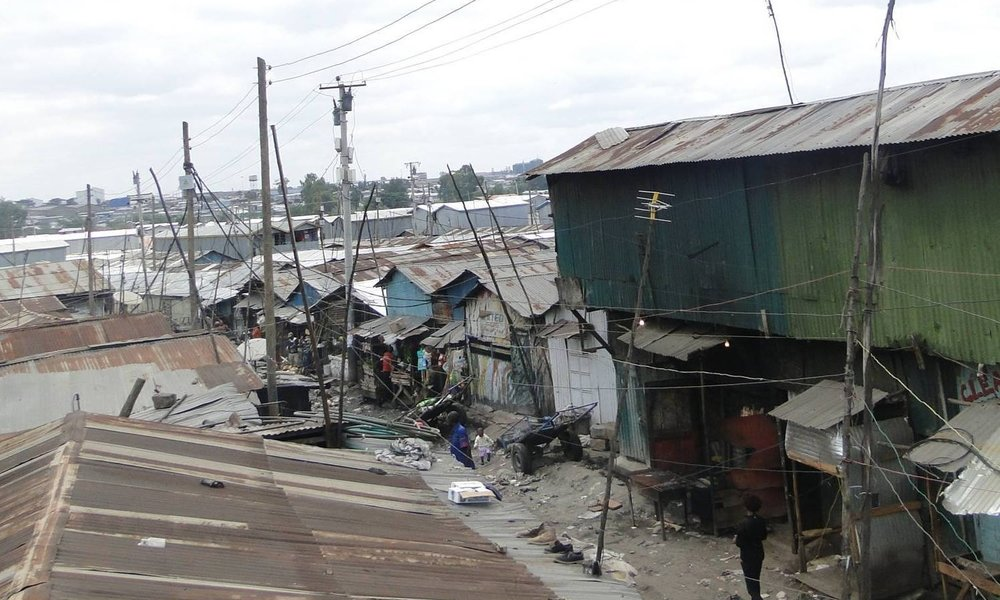 A section of Mukuru slum area. Photo: AMT.