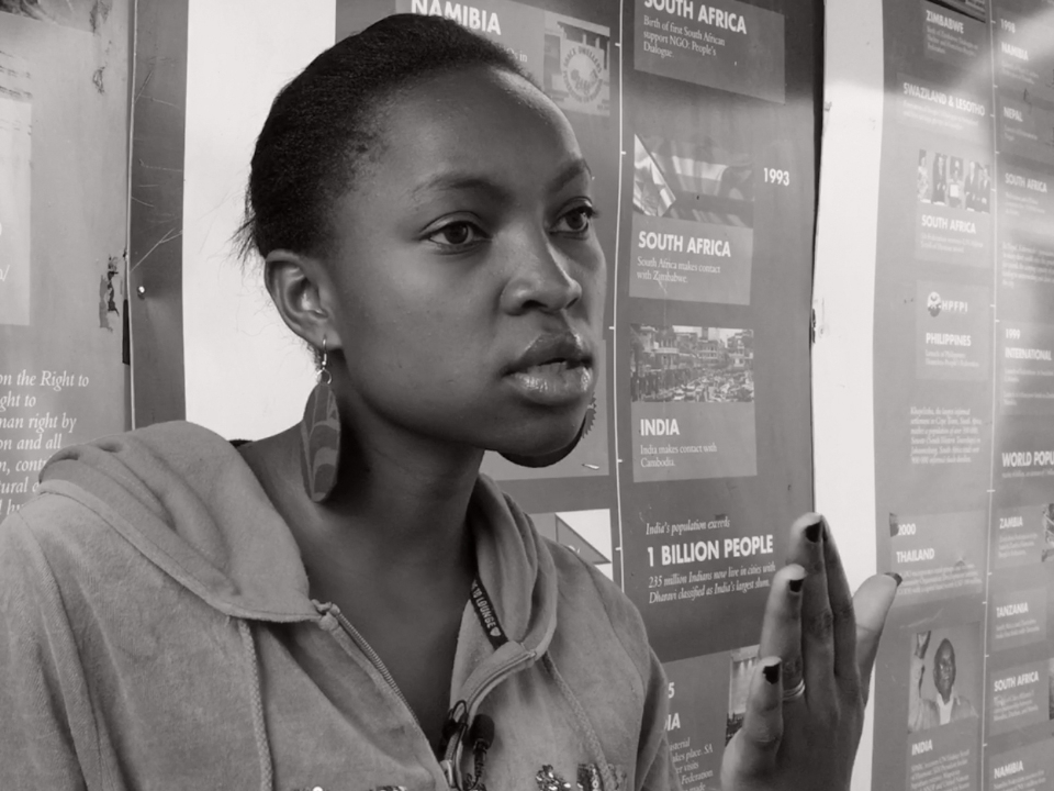 Eva Muchiri - Muungano, Mathare, Nairobi & History team