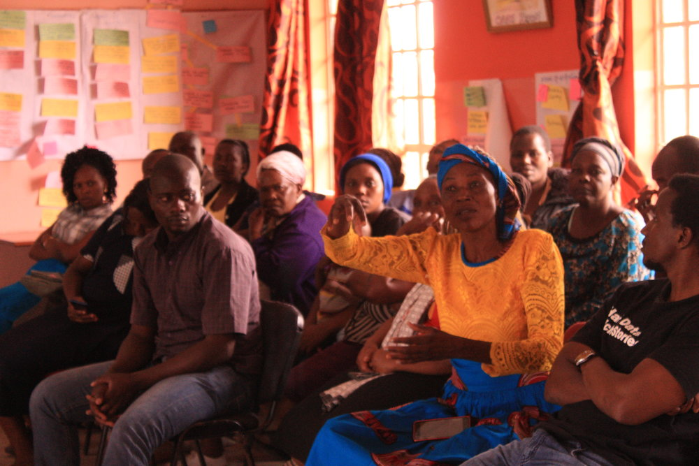 The Health consortium pre-consultation with Mukuru kwa Reuben (residents from segments 1, 2, 3 and 4) was held on 9 November 2018