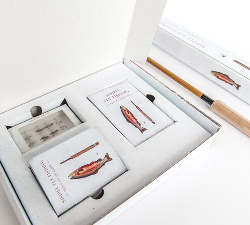 Simple Fly Fishing Kit Interior Packaging