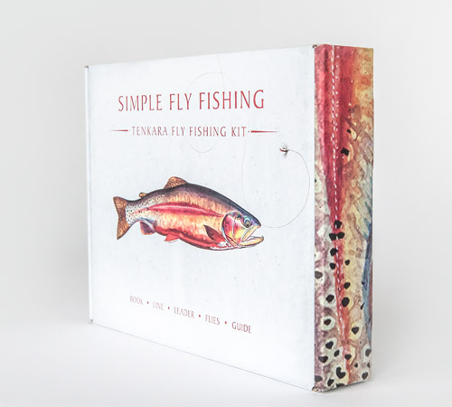 Simple Fly Fishing Tenkara Fly Fishing Kit Packaging