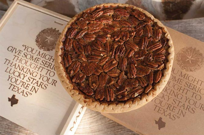 2014 Holiday Gift Guide Goode Co. Pecan Pie and Wooden Box