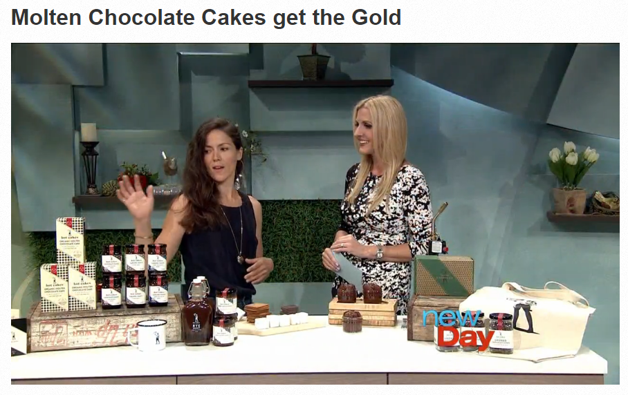 Sofi Award Hotcake's Autumn Martin on New Day with Host