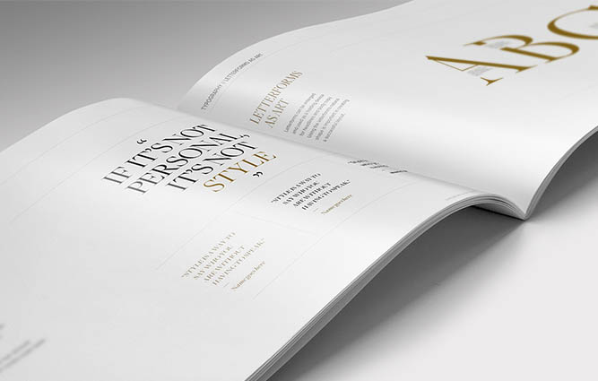 JHStylist Brand Guidelines Typography