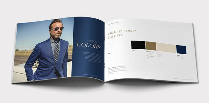 JHStylist Brand Guidelines Interior Color Page