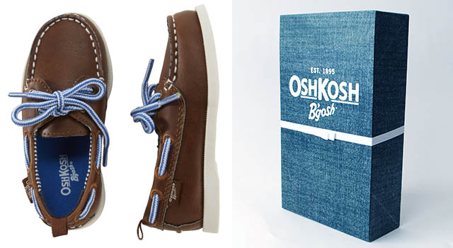 Osh Kosh B'gosh Shoes and Box