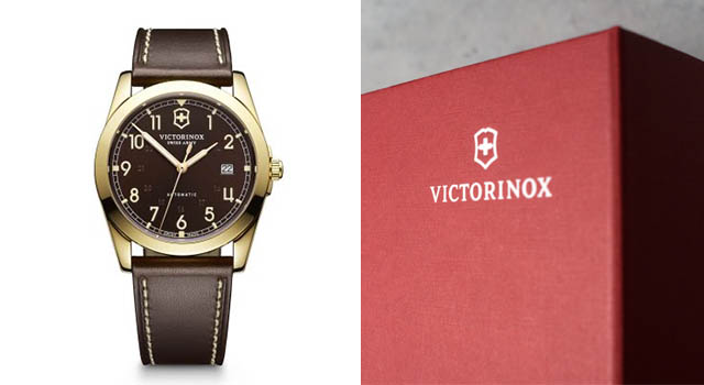 CRP Victorinox Packaging and Watch