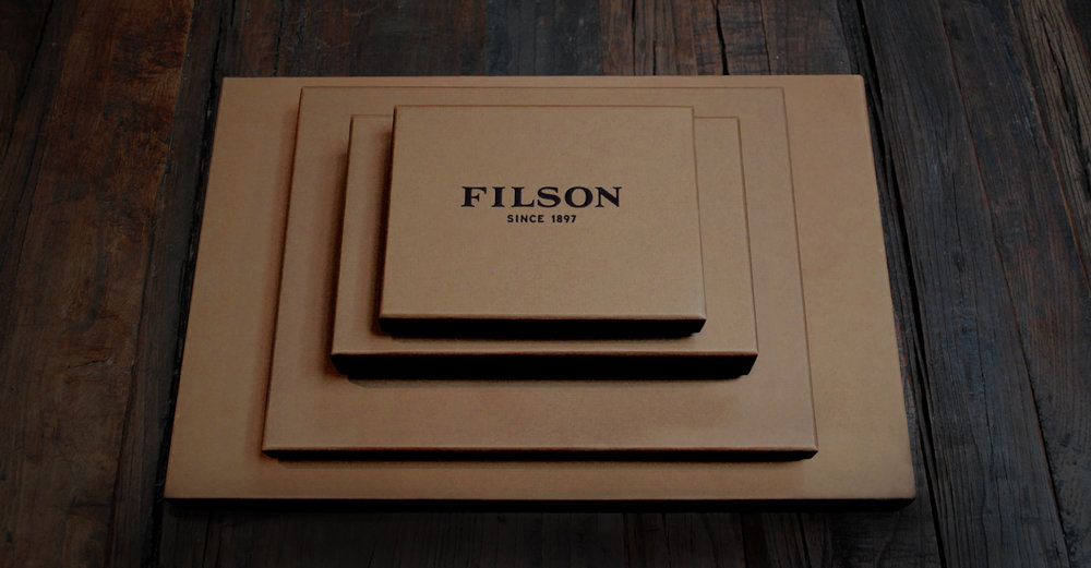 Filson Stacked Packaging