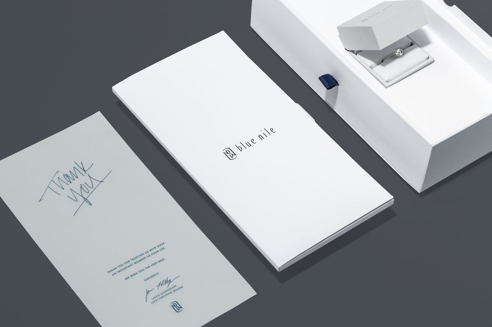 Luxury Packaging Set Blue Nile