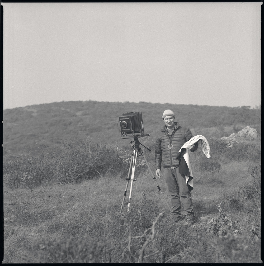 Master photogravurist Unai San Martin