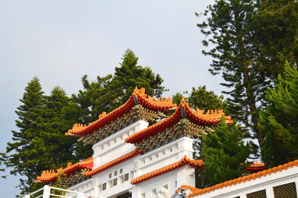 Wenwu Temple, Nantou