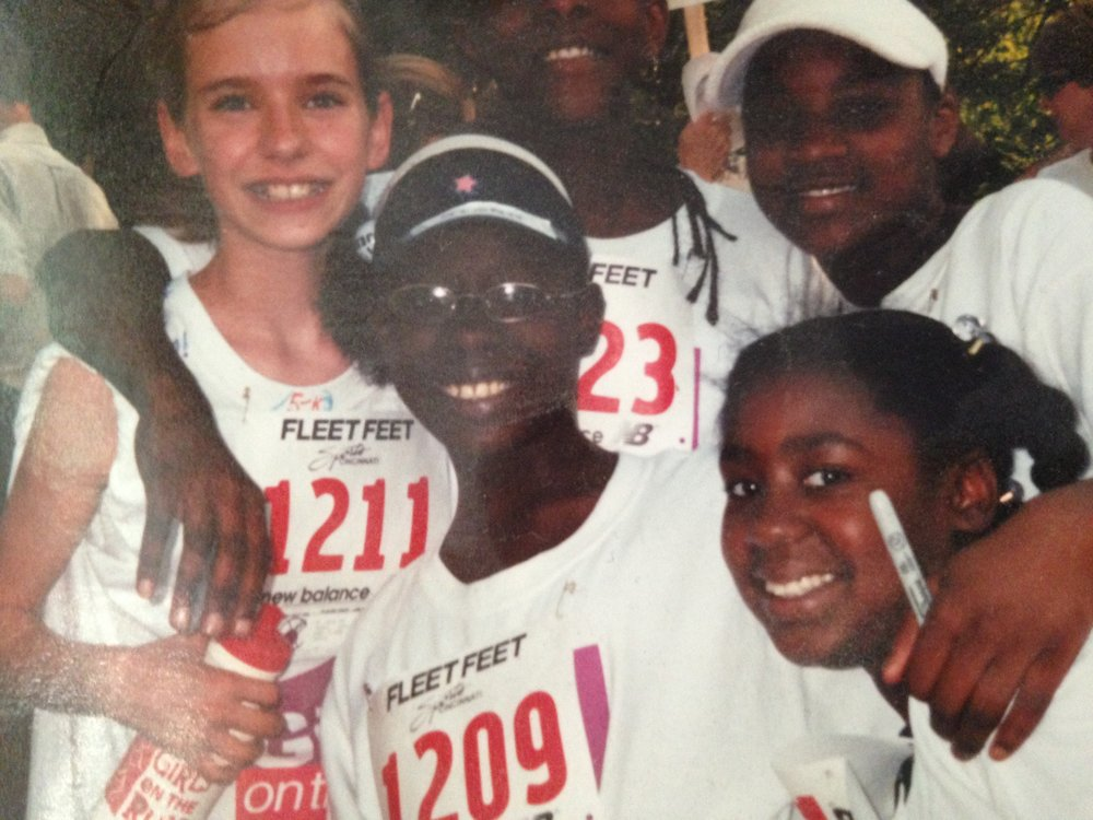 Some GOTR friends after our first 5k race