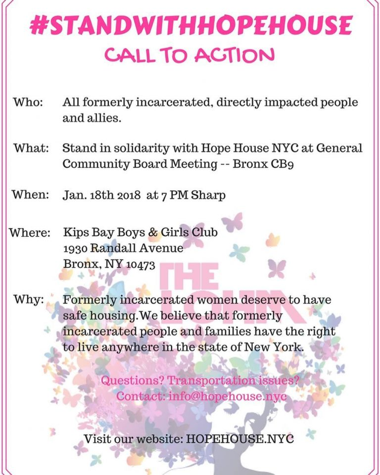 - Join the Women's Buildingsupporters in speaking out in support for formerly incarcerated women. From our allies at the Women's Building: