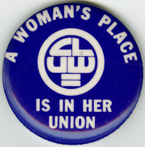The Coalition for Labor Union Women ( national website ) had it's most recent meeting January 18th at 6pm @  70 West 36th Street, 16th Fl, NY NY 10018.   The NYC chapter   CLUW needs tradeswomen!! CLUW gets a vote in the NYC Central Labor Council body, which informs policy about all trades in NYC, so having a tradeswoman's voice there can be critical to pressing our needs at a powerful leadership level. You must be a member in good standing of a union or other collective bargaining organization and be a national member of CLUW to join a  Local CLUW Chapter . The fee to join the national CLUW is $35 annually (or $15 for an unemployed worker.) Join CLUW, and let's find ways to link up with them.
