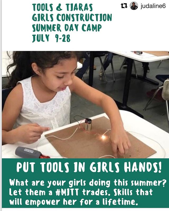 If you've got a girl child or know one and she lives in NYC, why HAVENT you registered her for this powerfully empowering FREE summer camp yet? 🤔 toolsandtiaras.org