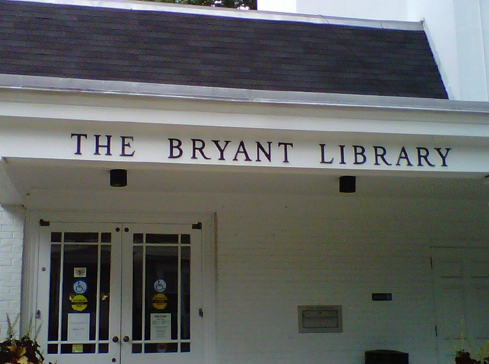 Visit the Bryant Library.  They have a host of  programs that you'll love and the passionate team that runs the library does a wonderful job for our community.