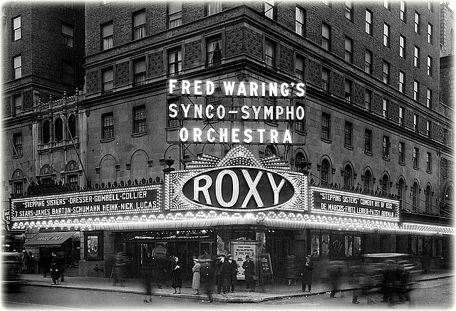The Roxy Theater.
