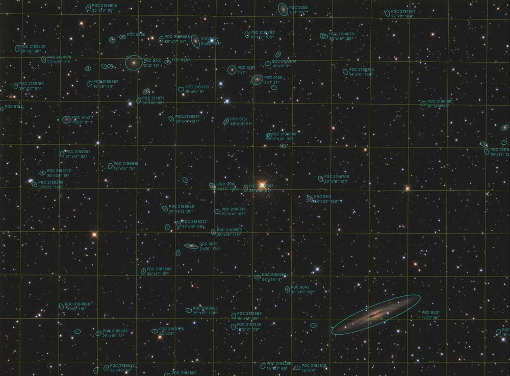 In this overlay, done in Observatory on the Mac, you can see all 79 galaxies highlighted.