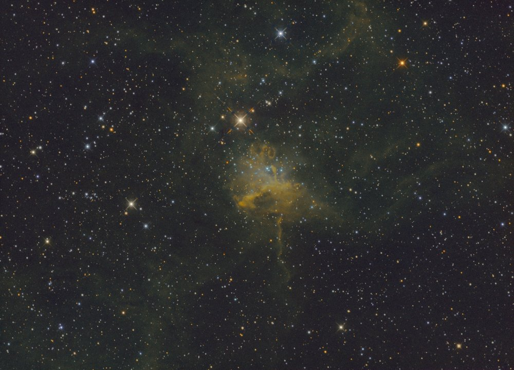 IC 417 imaged on the AT6RC from Astro-tech.